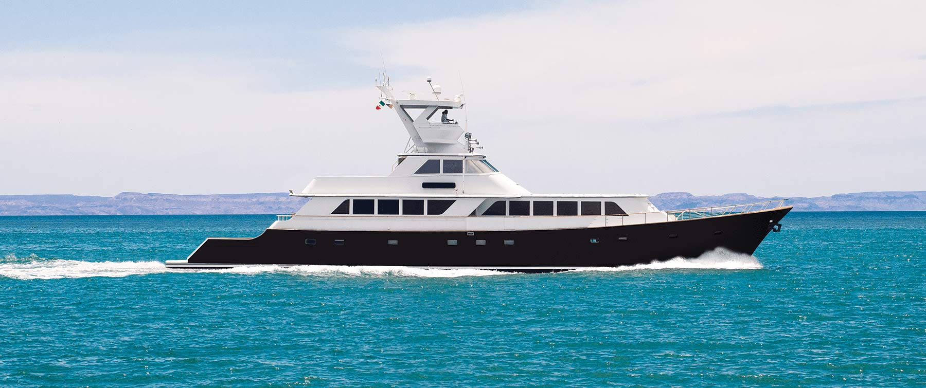 Gallant Lady at Sea Of Cortez